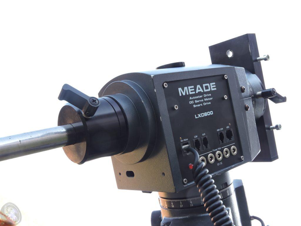 LXD600, Anschlußplatte