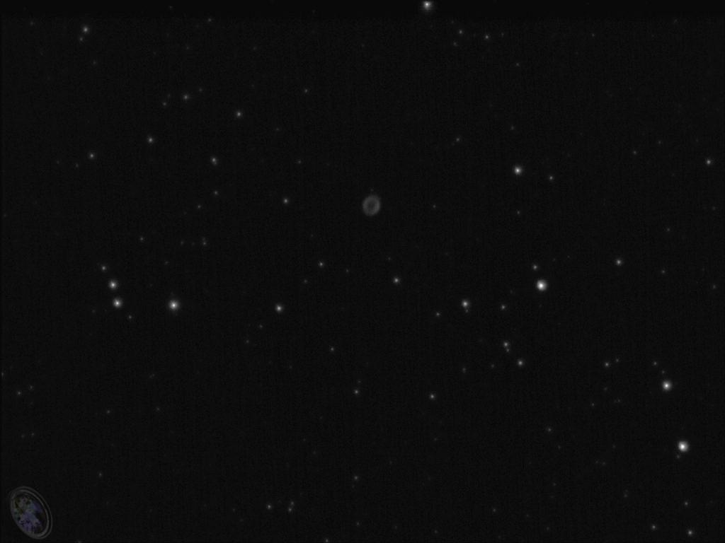 Ringnebel M57 mit der ASI120MM-S
