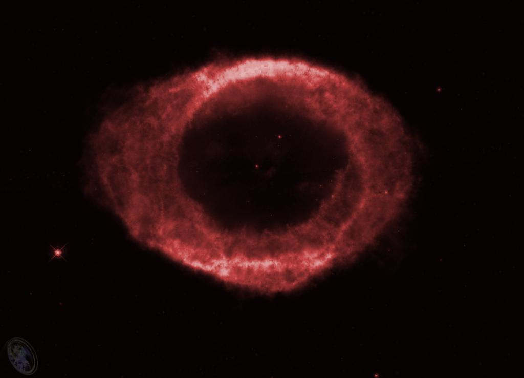 M57, HST, F673N, SII